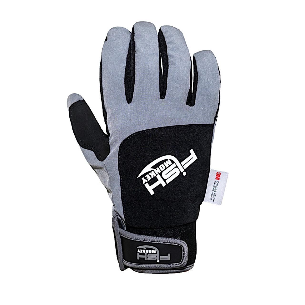 Fish Monkey FM38 Men's Stealth Dry Tec Waterproof Fishing Gloves
