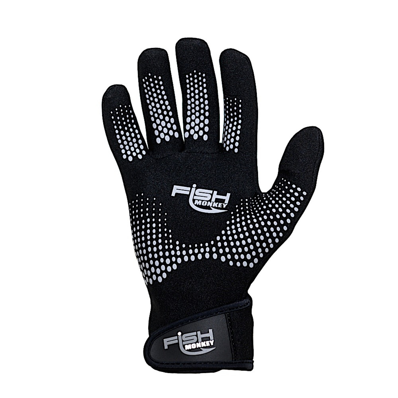 """Fish Monkey FM50 Men's """"The Blocker"""" Neoprene Fishing Gloves"""