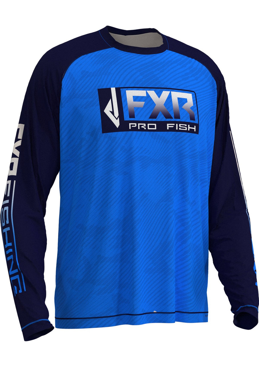 FXR Men's Strike Air UPF Long Sleeve Fishing Shirt 202086