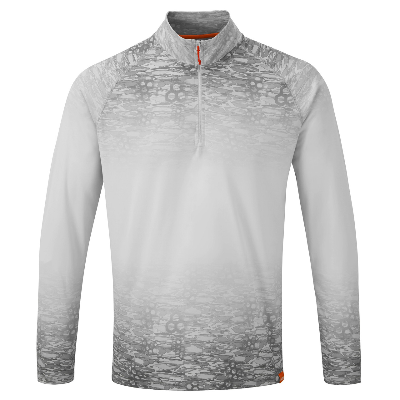 Gill Men's UV Tec 1/4 Zip Long Sleeve Fishing Shirt UV009