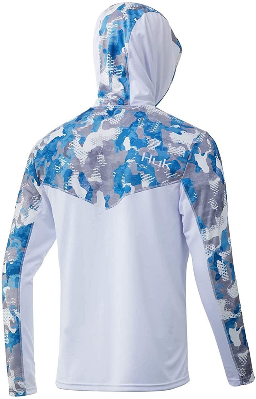 Huk Youth Icon X Refraction Camo Hoodie H7120045