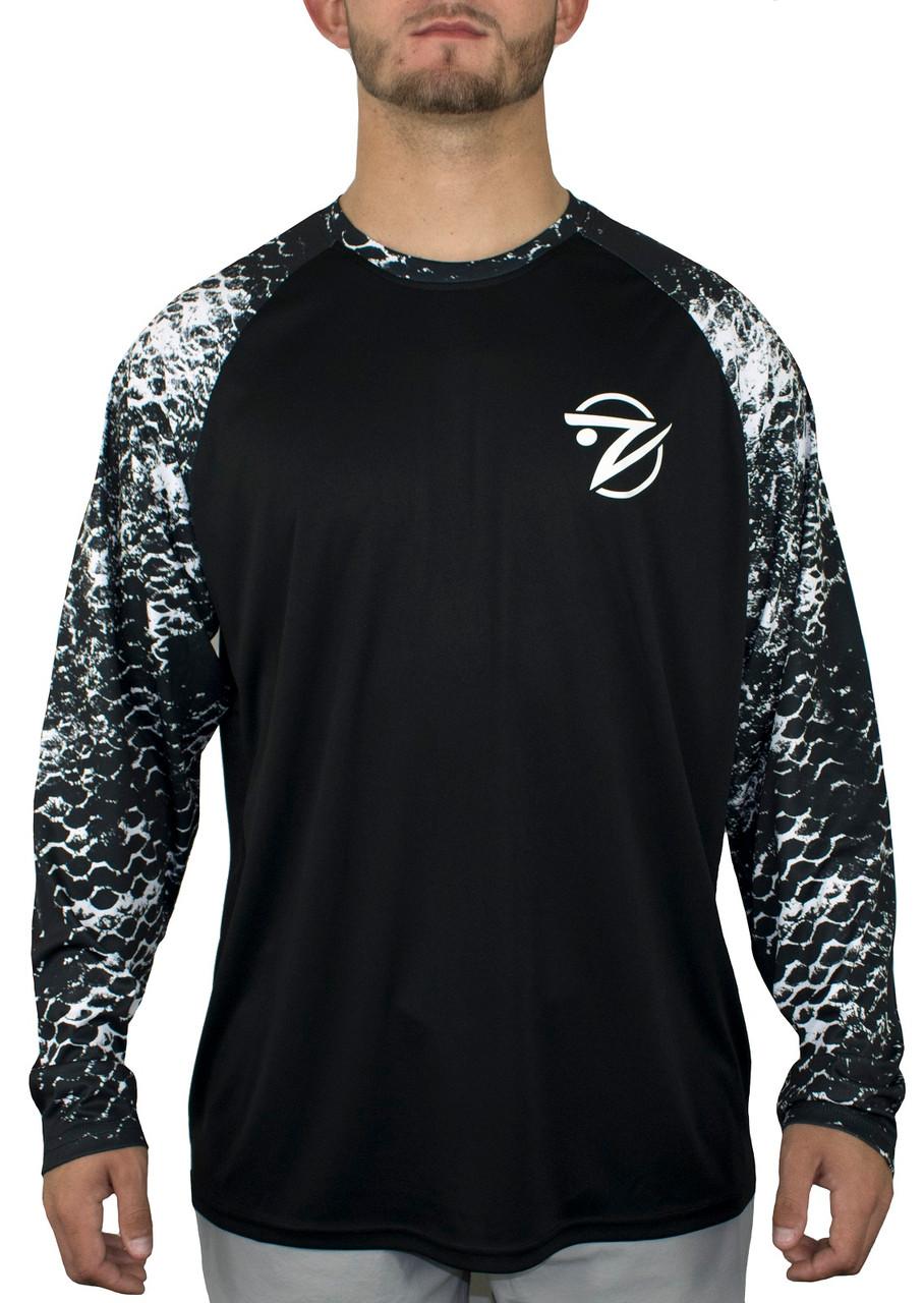 Gillz Men's Contender Raglan Long Sleeve Shirt