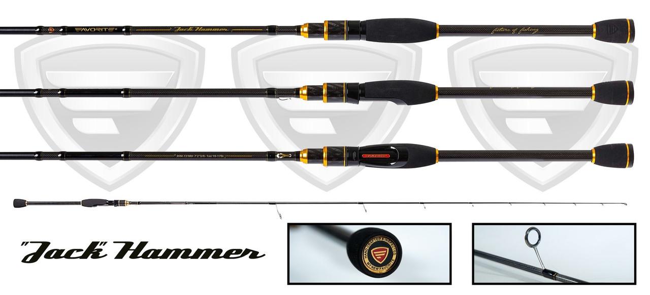 "Favorite Rods ""Jack Hammer"" Spinning Fishing Rod"