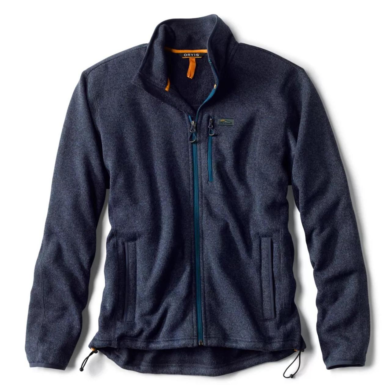Orvis Recycled Sweater Fleece Jacket 3BA2