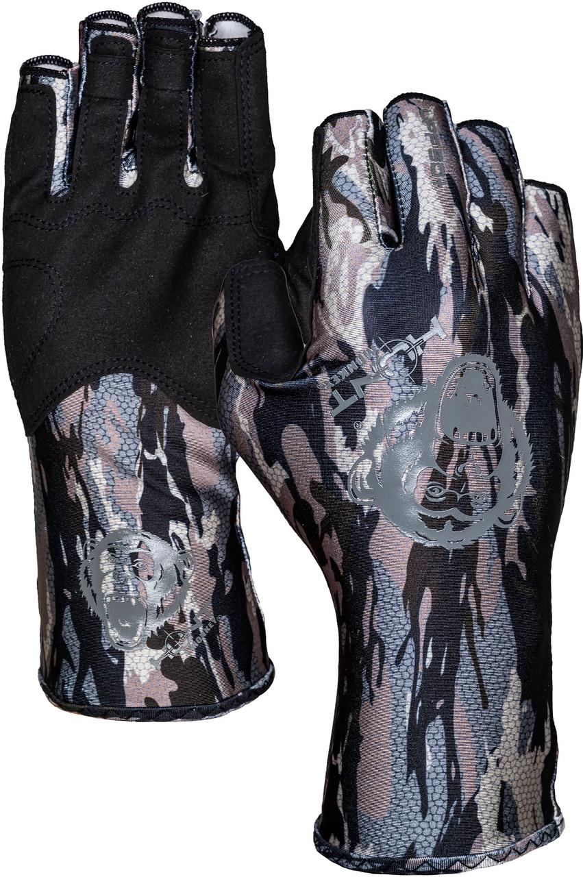 Hunt Monkey HM710 Men's Sneaky Pete Half Finger Gloves