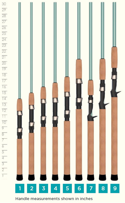 St. Croix Avid Inshore Series Spinning Fishing Rods