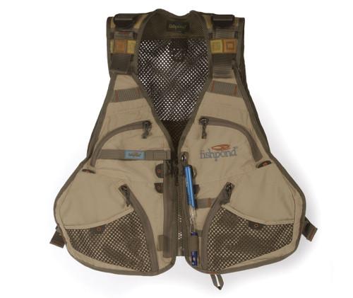 Fishpond Fly Fishing, Flint Hills Fishing Vest, Clay (FISHPOND-FHV-C)
