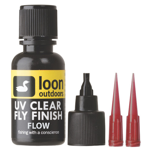 Loon Outdoors, UV Curing Clear Fly Tying Finish, Flow 1/2 oz.