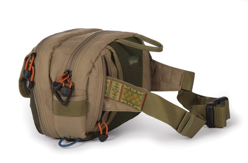 Fishpond Fly Fishing, Blue River Chest / Lumbar Pack, Khaki/Sage Green