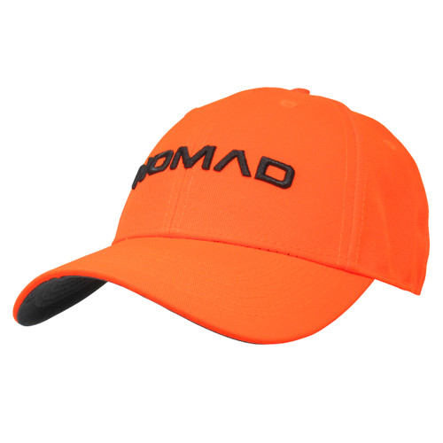 Nomad Camo Stretch Hunting Cap, N3000042 Blaze Orange