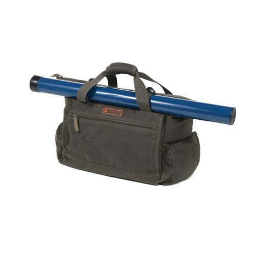 Fishpond Bighorn Waxed Canvas Kit Bag, Peat Moss Waxed Canvas