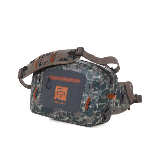 Fishpond Thunderhead Submersible Lumbar Pack, Riverbed Camo