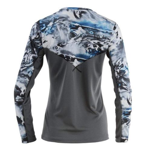 Huk Women's Camo Icon Long Sleeve Shirt H6120021
