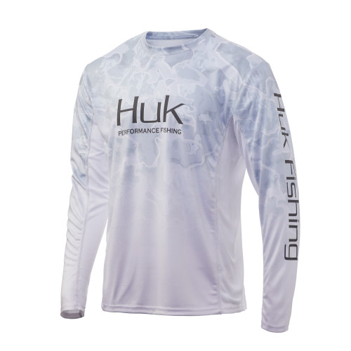 Huk Men's Icon Camo Fade Long Sleeve Shirt H1200155