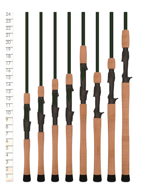 St. Croix Legend Elite Spinning Fishing Rods