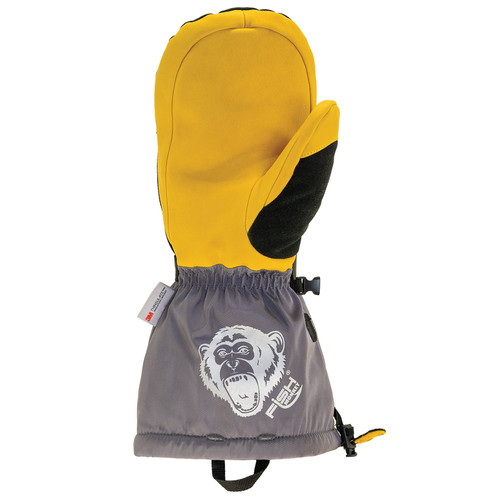 Fish Monkey FM36 Men's Yeti Premium Ice Fishing Mittens