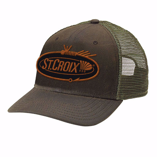 St. Croix Rods Waxed Fishing Cap