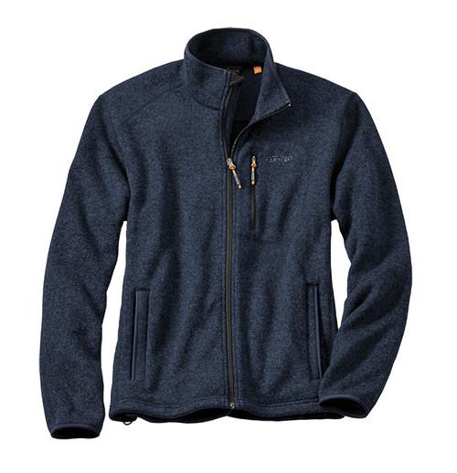 Orvis Men's Full Zip Sweater Fleece Jacket, 2SBL