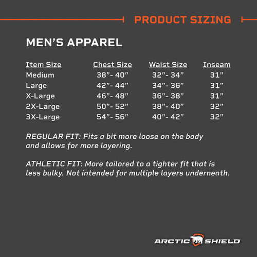Arctic Shield Men's Classic Elite Blaze Orange Bib