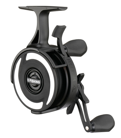 13 Fishing 2020 Black Betty FreeFall XL Inline Ice fishing Reel