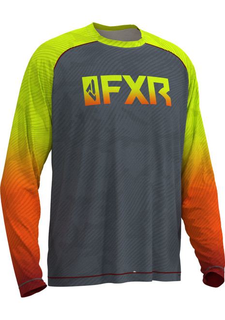 FXR Men's Attack Air UPF Long Sleeve Fishing Shirt 202094