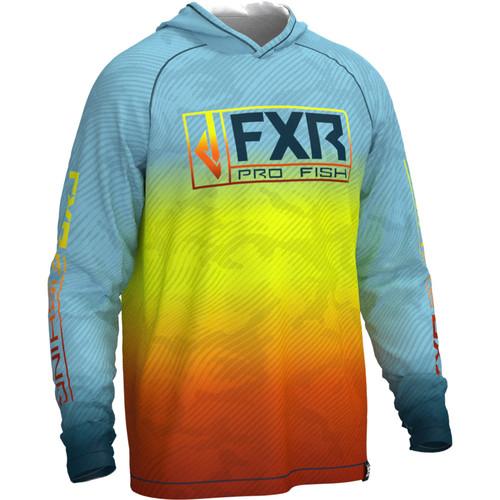 FXR Men's Derby Air UPF Pullover Hoodie 212097