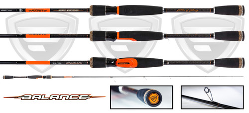 "Favorite Rods ""Balance"" Spinning Fishing Rod"