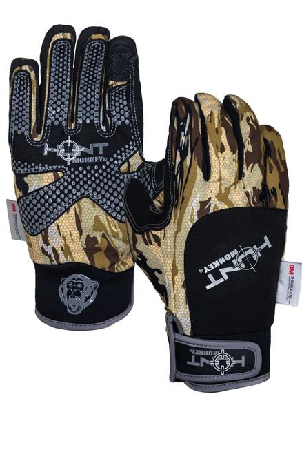 Hunt Monkey HM706 Men's Stealth Hunt Dry-Tec Hunting Gloves