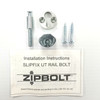 Slipfix Handrail to Newel Post Hardware - Single Pack