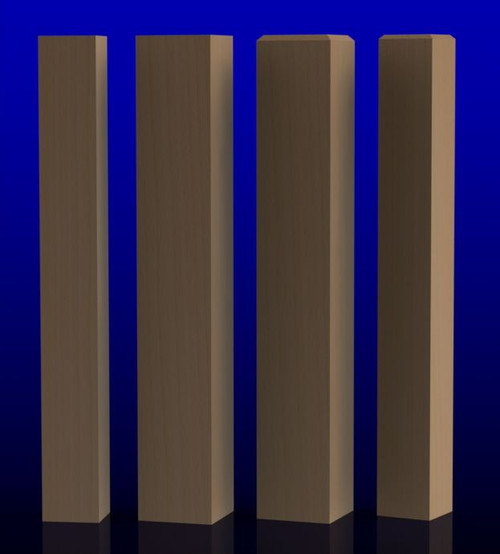 Square Newel Posts-Newel Posts-Modern Newel Post