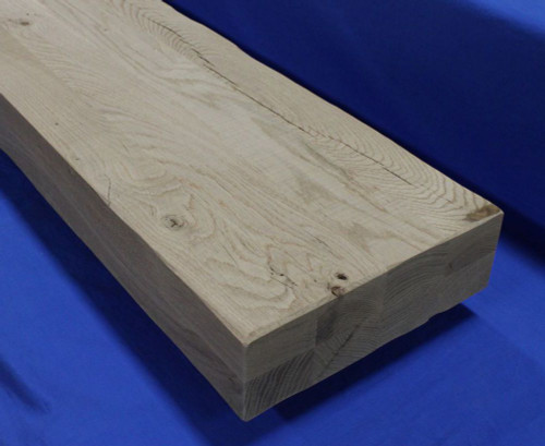 2.5-inch-Thick-Rough-Sawn-Tread-White-Oak-Character- Rustic distressed thick stair treads for mountain modern staircases-2-1/2 inch thick-Rustic-Thick-Tread-Distressed-Thick-Tread