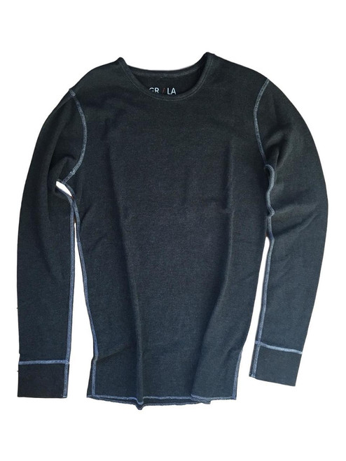 The Jagger GRLA LST BLACK 9004 Long Sleeve Lightweight thermal / Fitted