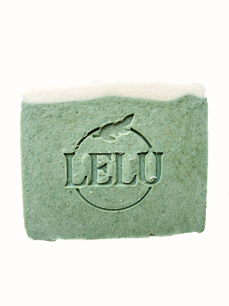 Spearmint Eucalyptus Goat's Milk  All Natural Handmade Soap  with Spearmint Eucalyptus Essential Oil Lelu Soap Lab