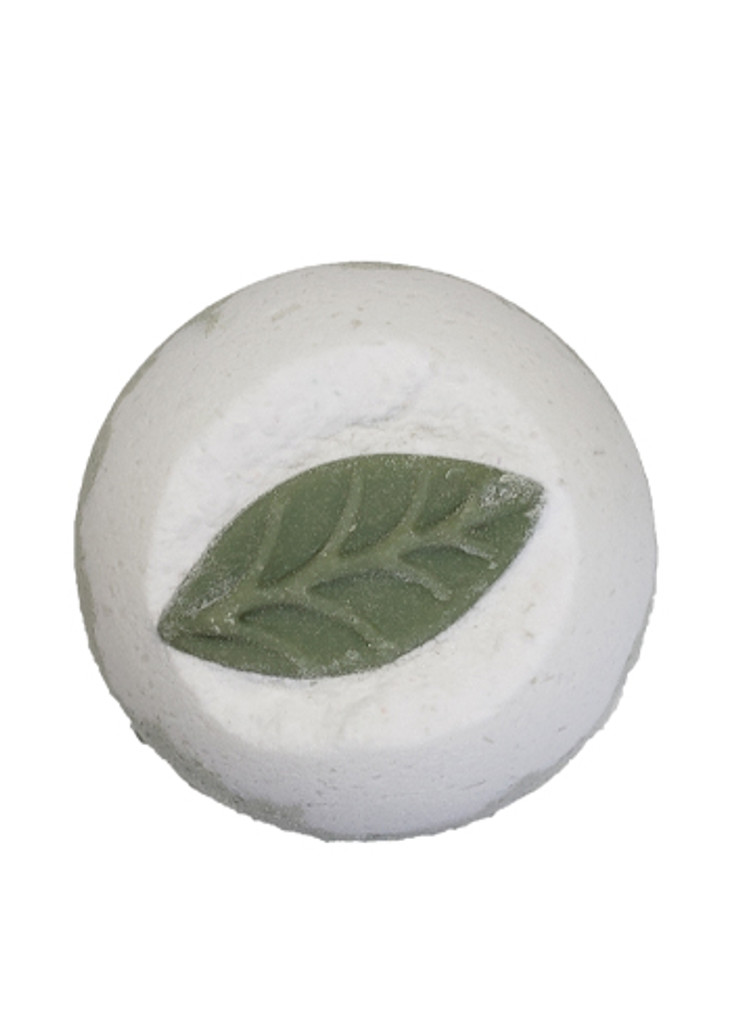 Rosemary Bliss Bath Bomb with Rosemary Essential Oil Lelu Soap Lab