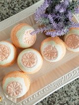 Sweet Sunshine Bath Bomb with Sweet Orange Oil Lelu Soap Lab