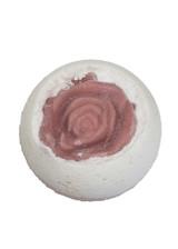 Mi Amor Bath Bomb with Vanilla and Lavender Essential Oil Lelu Soap Lab