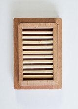Wooden Soap Dish A by Lelu Soap Lab