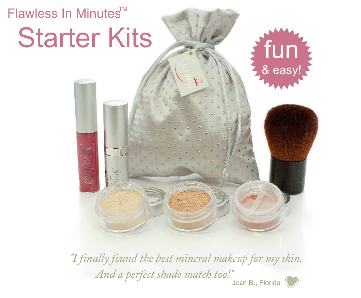 Mineral Makeup Starter Kits | Sterling Minerals
