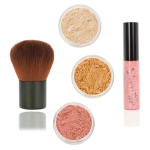 fair to medium mineral makeup starter kit  sterling minerals