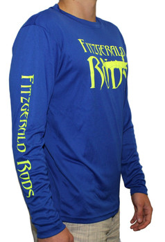 F.R. Performance Shirt (Blue/Lime Green)