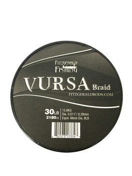 Vursa Braid 30 lb Black
