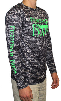 F.R. Performance Shirt Digital Camo Black