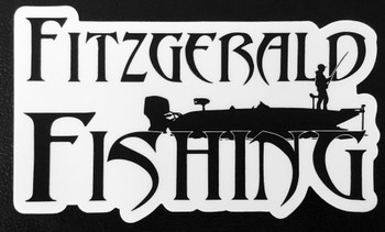 Fitzgerald Fishing Sticker