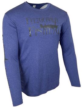 FF-Heather-Royal Perf. Shirt