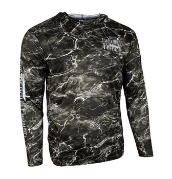FF-Mossy Oak Element BlackTip Performance  Shirt W/Hoodie