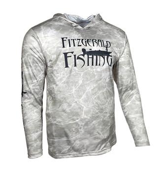 FF-Mossy Oak Element Bonefish Hoodie Performance Shirt