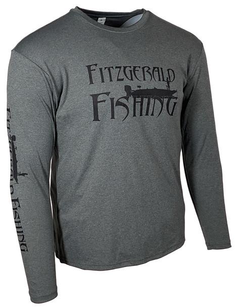 FF-Performance Shirt Heather Black