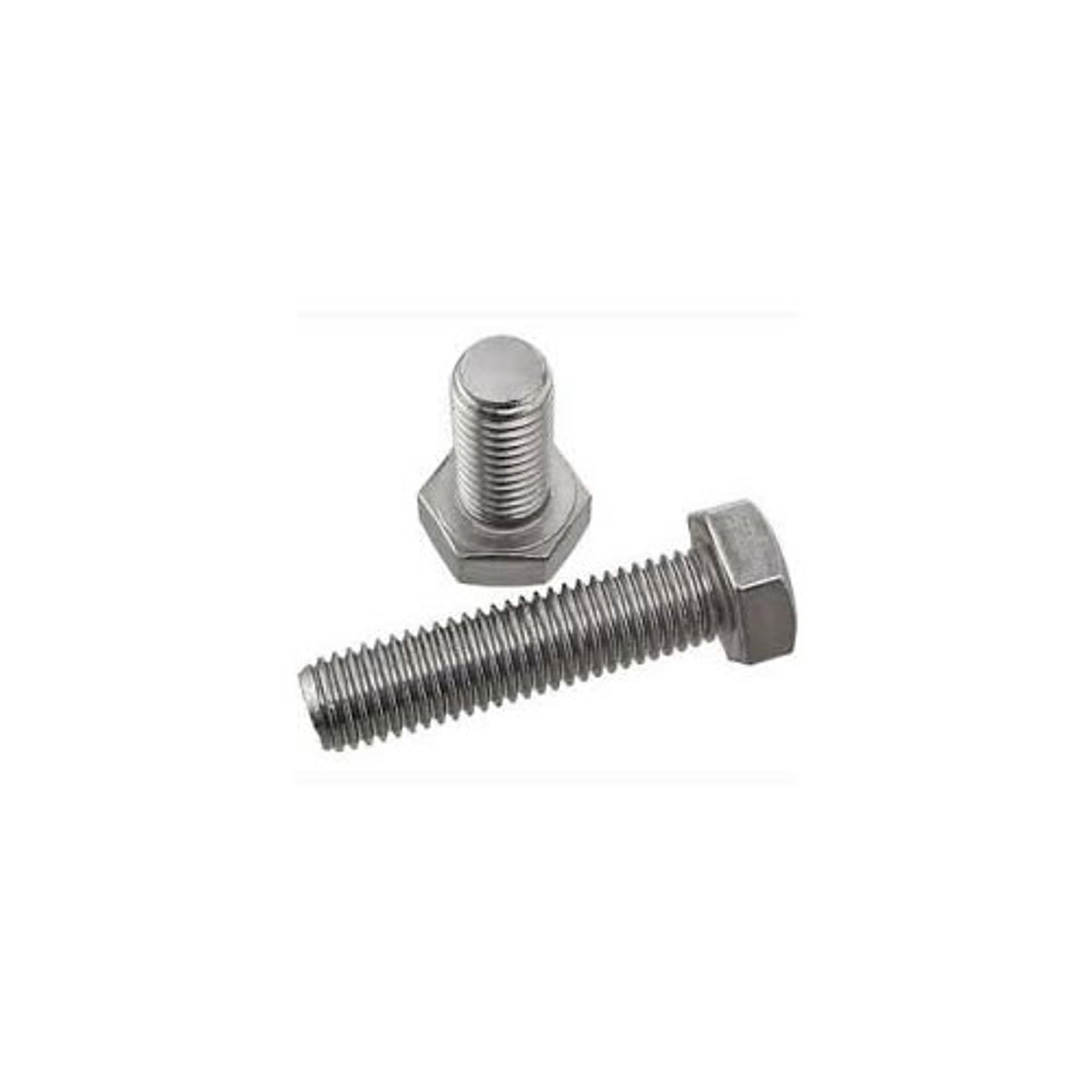 Hex Head Tap Bolt Stock Photo