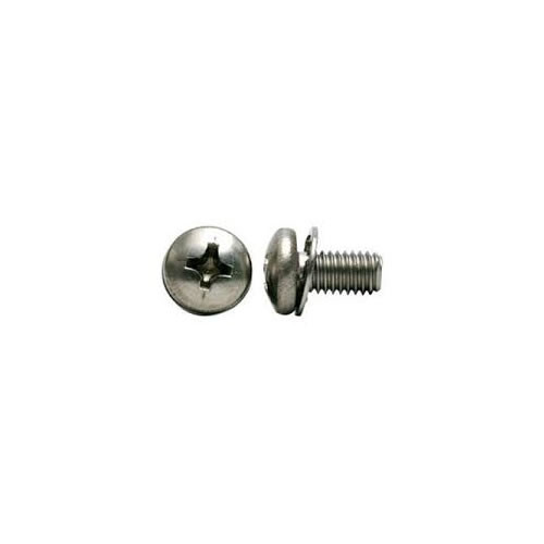 2-56 X 1 Phillips Pan M/S with Internal Tooth Lock Washer 18-8 Stainless Steel
