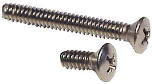 Phillips Pan Machine Screw 18-8 Stainless Steel Stock Photo